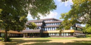 Hochschule RheinMain: Vorderansicht